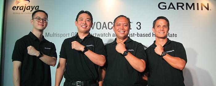 Photo of Garmin® vívoactive® 3 Smartwatch yang Menjadi Pelacak Aktivitas Sejati, Kebugaran, dan Tampil gaya