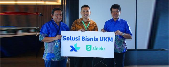 Photo of XL Axiata dan Sleekr Hadirkan Solusi Pengembangan Bisnis UKM