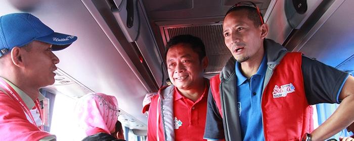 Photo of Telkomsel Berangkatkan 1.940 Peserta Mudik Bareng Menggunakan Bus, Pesawat, dan Kapal Laut