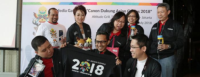 Photo of Canon dan Datascrip Berikan Dukungan Terbaik untuk Penyelenggaraan Asian Games 2018