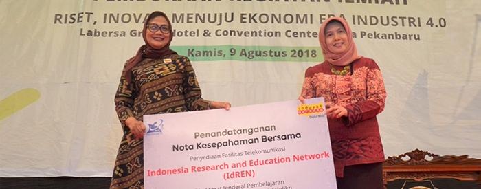 Photo of Indosat Ooredoo Berikan Fasilitas Telekomunikasi Hybrid Learning IdREN untuk dukung Era Pendidikan 4.0