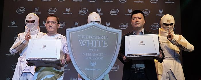 Photo of Predator Helios 300 Special Edition, laptop gaming warna putih, memadukan kemewahan desain dan kekuatan performa