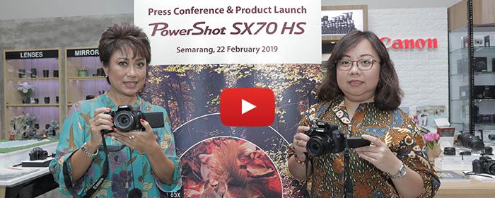 Photo of Canon PowerShot SX70 HS, Ringkas Berteknologi 4K dengan Optical Zoom Hingga 65x