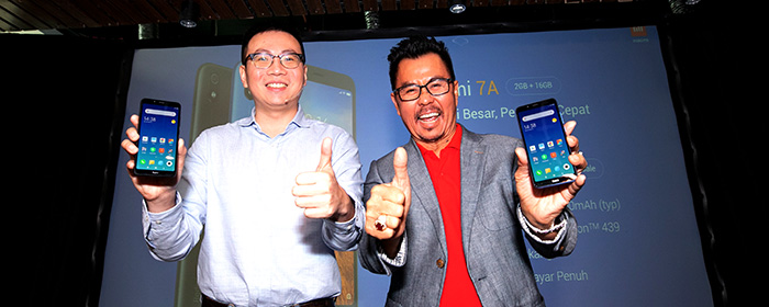 Photo of Xiaomi luncurkan Redmi 7A di Indonesia. Smartphone entry-level berkualitas tinggi  dengan baterai besar dan performa cepat seharga Rp.1.299.000 dibandling Smartfren