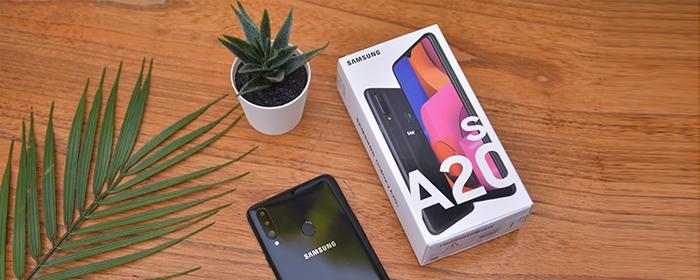 Photo of Samsung Galaxy A20s Smartphone mewah dikelas Entry Level, dengan spesifikasi mumpuni dan desain yang Elegan.