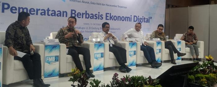 Photo of Pemerataan Ekonomi Digital yang bisa dinikmati secara adil oleh seluruh masyarakat Indonesia