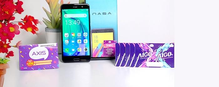 Photo of Paket Bundling Advan Nasa+Axis mendapatkan kuota internet 31 GB selama 24 jam untuk satu tahun