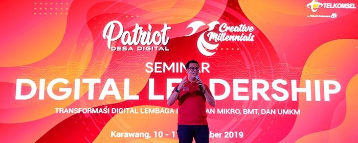 Photo of Telkomsel Hadirkan Patriot Desa Digital nuntuk Mendukung Ekonomi Kreatif Melalui Transformasi Digital